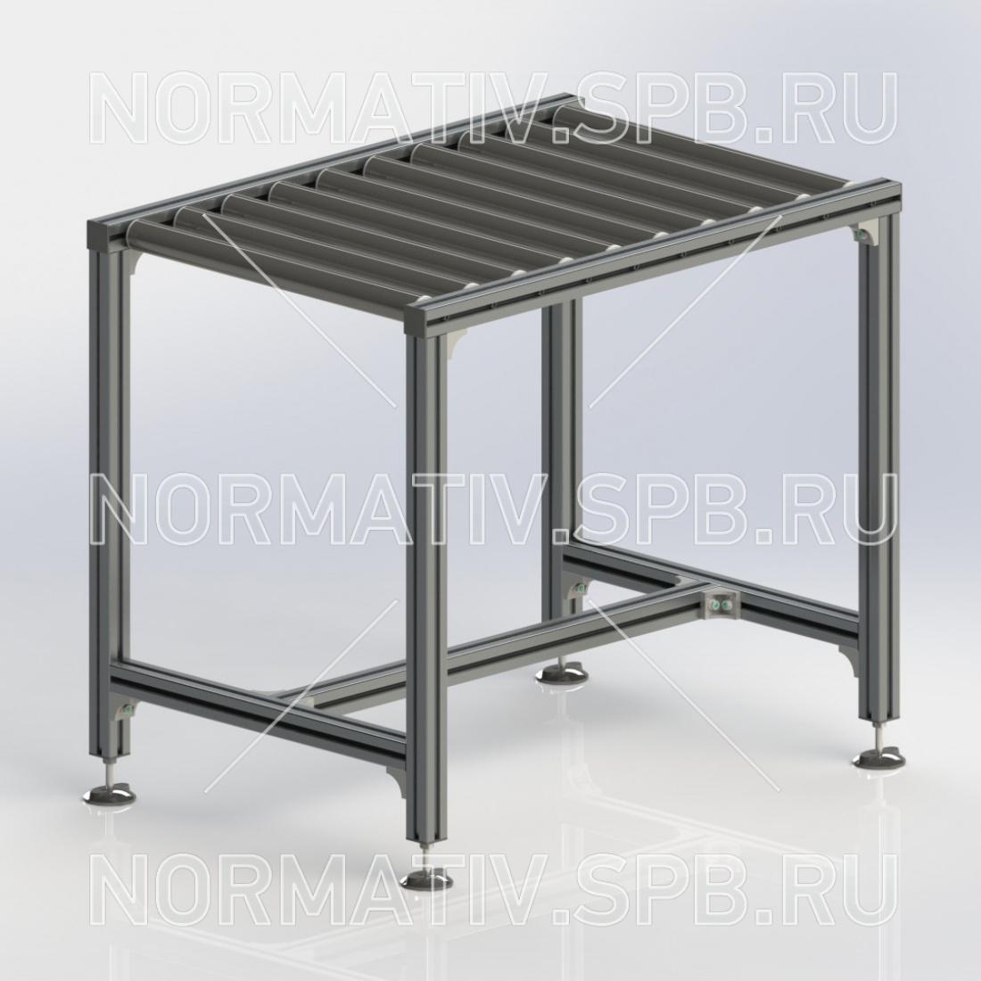 рольганг. роликовый конвейер