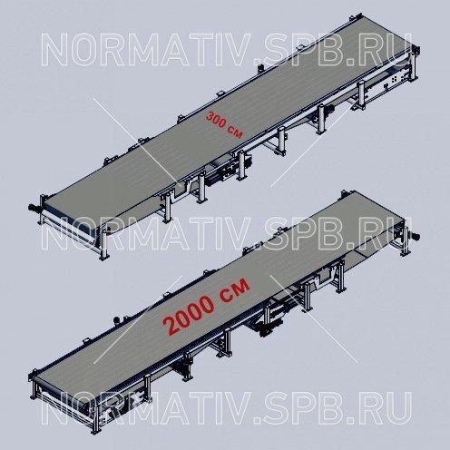 Формовочный транспортер транспортеры для бревен