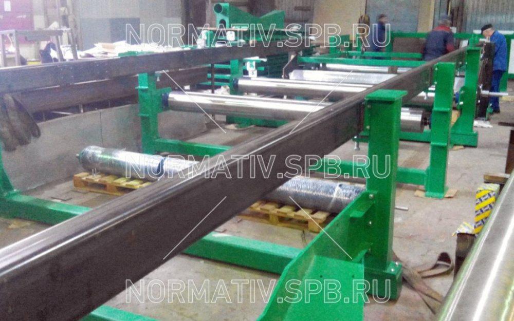 Конвейер формовочный перемещение сыпучих материалов транспортером