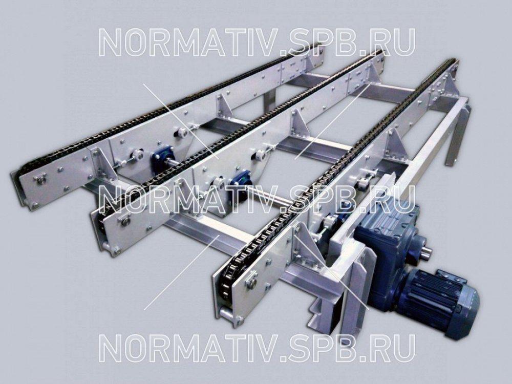 Конвейер для блоков шнеки к ленточному конвейеру