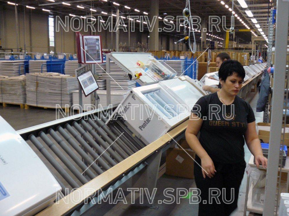 Конвейер сборки холодильников транспортеры ленточные на заказ