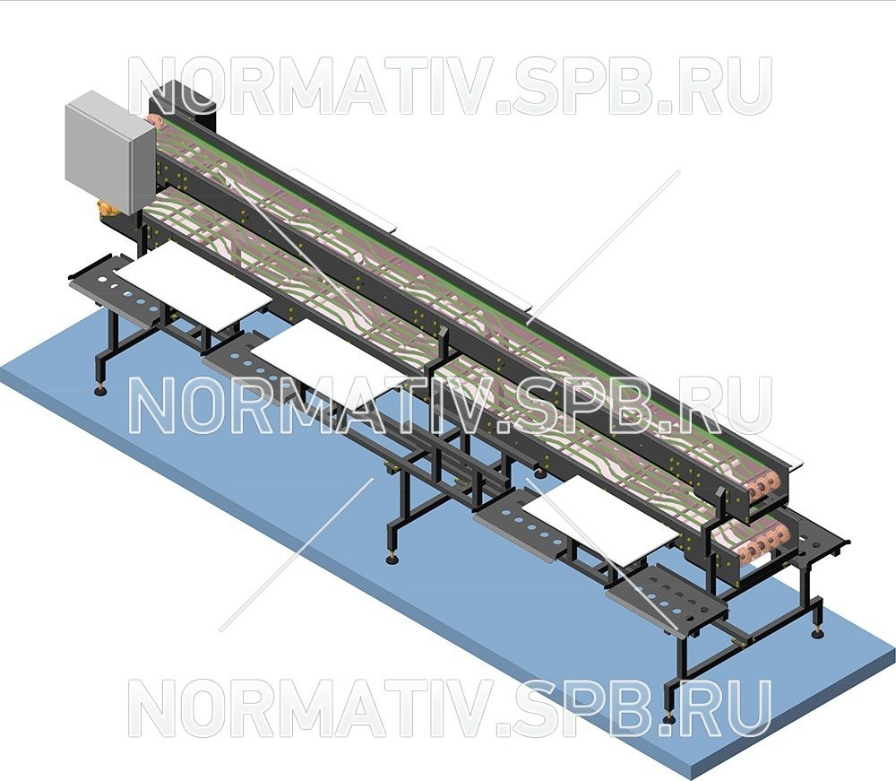 Вертикальные конвейера с подачей наверх конвейеры потолочные