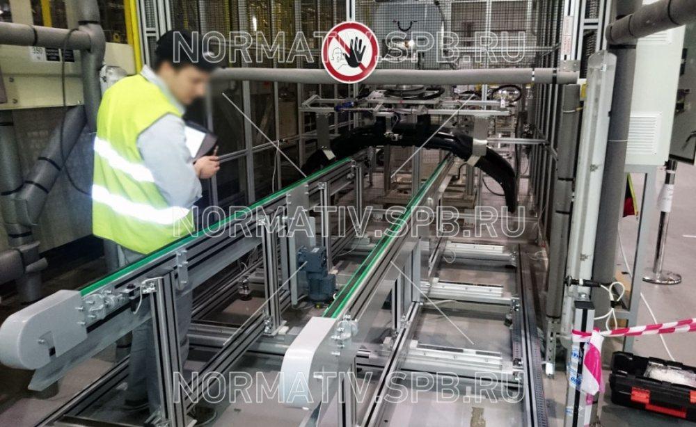 Техника безопасности конвейер транспортер вертикальный ковшовый